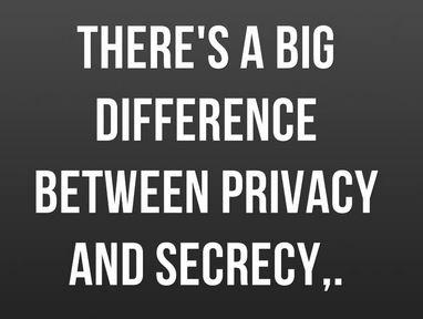 privacysecrecy
