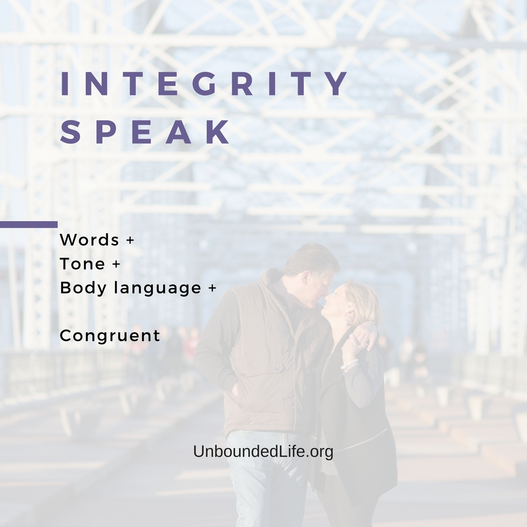 00628-2 Integrity Speak