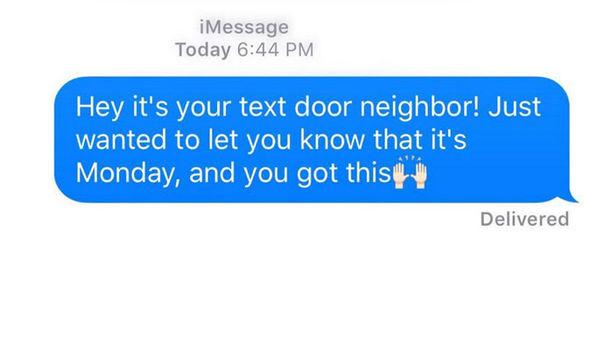 positive text